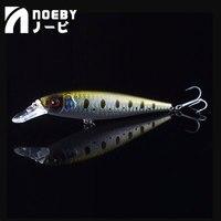NOEBY для мелкой рыбки приманки 100 мм 16,5g Приостановка 0-1,5 м 3D глаз рыболовные воблеры Leurre Souple Para Рыбалка свимбейт Carpe воблер (Wobbler)