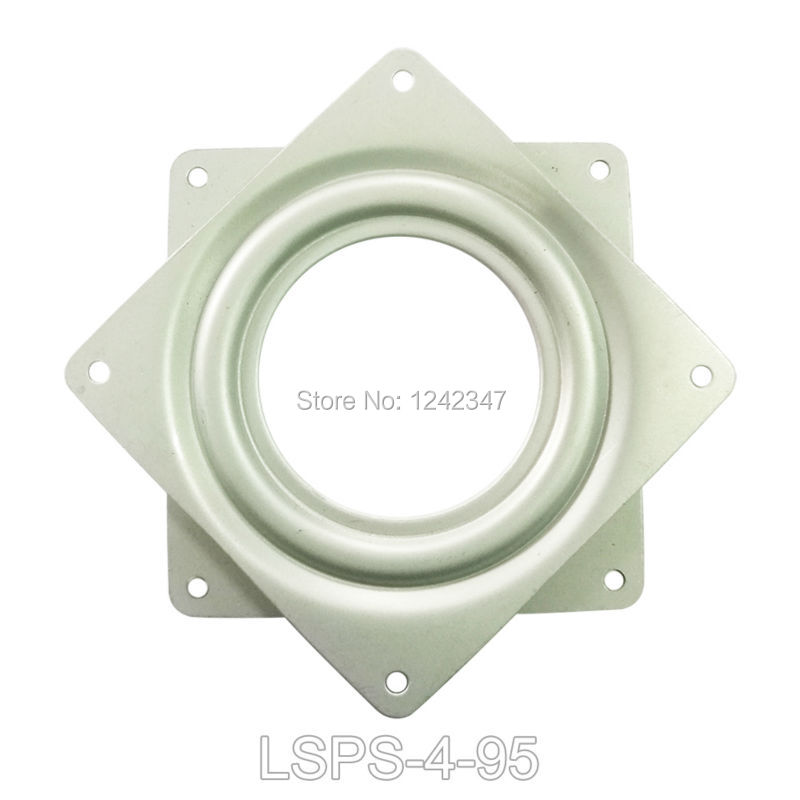 FreeShip 95mm 25kg load Lazy Susan Bearing TV Deck Turntable Swivel Plate Monitor Desk Table Home Furniture Chair Rotary Bearing