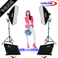 studio continuous light KIT shooting light 4 lamp photography light set lamp softbox photographic equipment CD50