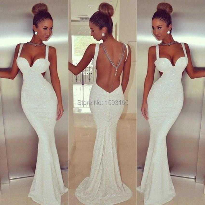 Long Fitted Prom Dress - Ocodea.com
