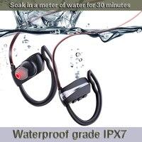 Good Earphones Durable Waterproof Wireless Bluetooth Headset Stereo Sport Swim IPX7 Earphone Compatible With All Smart