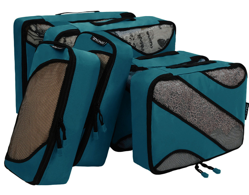 Cow 3 Set Packing Cubes,2 Various Sizes Travel Luggage Packing Organizers t