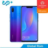 Original Huawei Nova 3i 4G 128G 6.3 inch 4 Cameras Phone Kirin 710 Octa Core Android 8.1 3340mAh Fingerprint ID Smartphone
