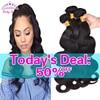 8A Mink Brazilian Virgin Hair Body Wave 4 Bundles Brazilian Body Wave Unprocessed Brazilian Human Hair Weave Bundles
