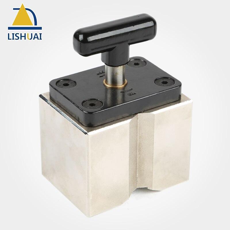 LISHUAI puissant On/off carré soudage aimant/néodyme aimant pince de soudage utilisé comme accessoires de soudage MWC1