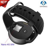 4 г LTE gps Wi Fi Android Смарт часы 1 ГБ + 16 ГБ 2MP Камера Фитнес трекер умные часы наручные часы носимых устройства для человека Для женщин