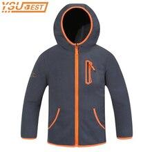 Kids Outerwear Jacket Spring Soft-Shell Boys Clothing Hooded Polar-Fleece Autumn New