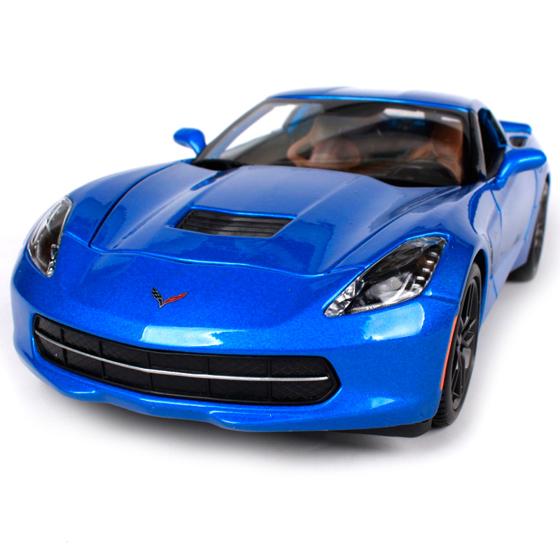 Maisto 1:18 2014 Corvette Stingray Z51 Sports Car Diecast Model Car Toy New In Box Free Shipping 31677 автомобиль jada toys corvette stingray concept glossy 1 18 серебристый 96326s
