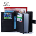 Genuine Leather Passport Cover Travel Passport Holder Bag Passport Case Wallet License Credit CardHolder BOX Pack