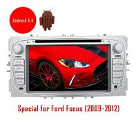 Android Car Radio Stereo for Ford Focus 2009 2012 GPS Navigation Head unit Automotive Car DVD CD Video Player Wifi Audio 3D Map