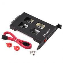 OImaster PCI Mobile Rack корпус жесткий диск случае коробка для 2,5 дюймов SATA SDD HDD адаптер