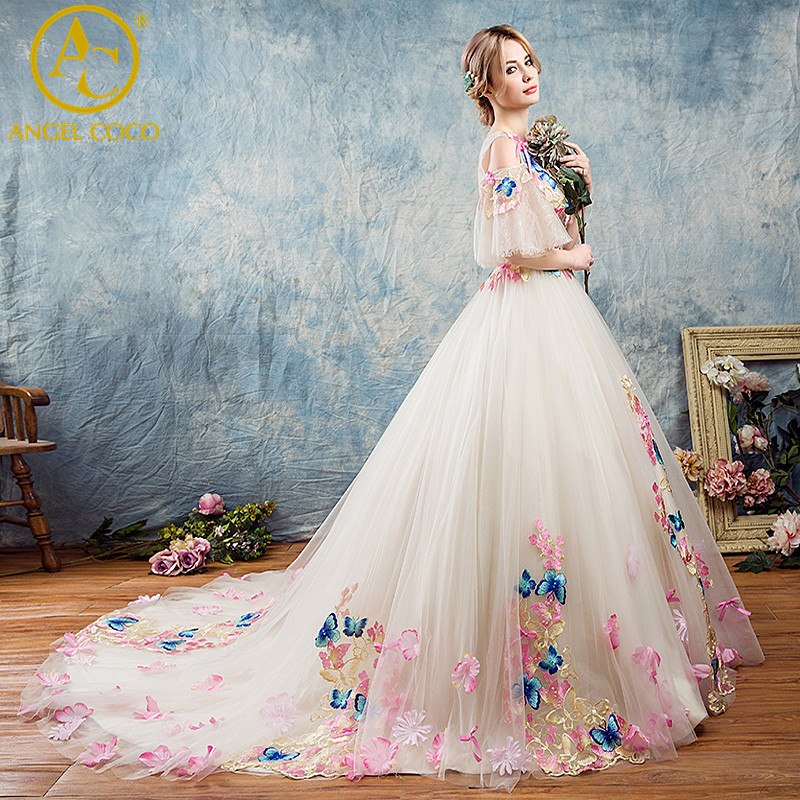 Colorful Turkish Wedding Gowns Pattern - Womens Dresses & Gowns ...