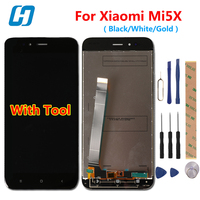For Xiaomi Mi5X LCD Display Touch Screen 100 New Test Good 100 New Digitizer Screen Glass