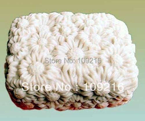 1pcs Daisy (50051) Săpun siliconic de mână manual Artizanat Mold - Arte, meșteșuguri și cusut