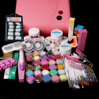 New Pro Pro 36W UV Dryer acrylic nail art set ,acrylic nail kit ,kit nail gel ,kit Gel nails set with lampPro 36W