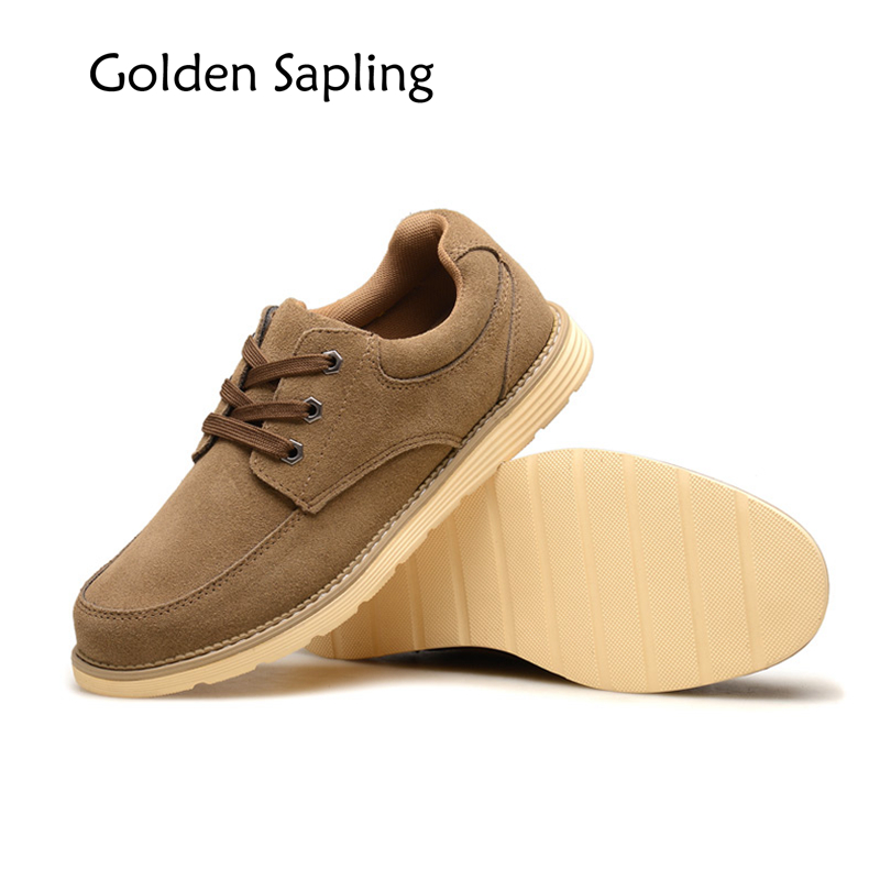 Golden Sapling Mens Hiking Boots Winter Sneakers Men's Sport Shoes Waterproof Leather Men's Sneakers Tactical Shoes Men Boots peak sport speed eagle v men basketball shoes cushion 3 revolve tech sneakers breathable damping wear athletic boots eur 40 50