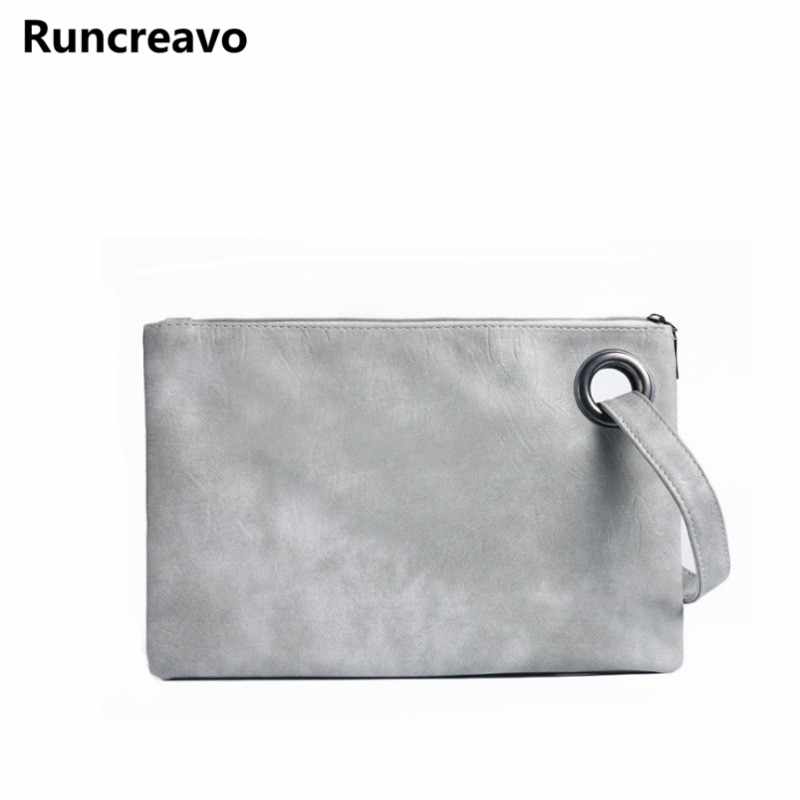 2018 hot sale Fashion solid women's clutch bag leather envelope bag clutch evening bag female Clutches Handbag bolsa feminina