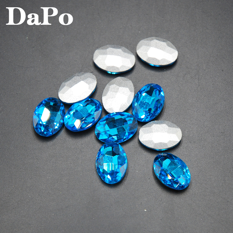 Aquamarine Color Pointback Fancy Stone Oval Rhinestones Glass Crystals For  Evening Jewelry Making DIY 4x6mm 20x30mm-in Rhinestones from Home   Garden  on ... 30bc31cd87e2