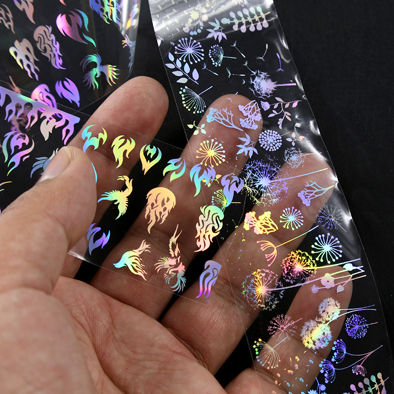 Holographic Nail Foil Decals