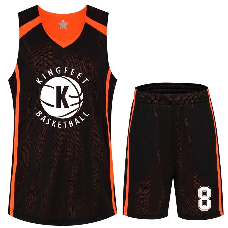 Prix pour Hommes de Basket-Ball Jersey Chemise et Short Respirant Personnalisé Le Nombre et Nom