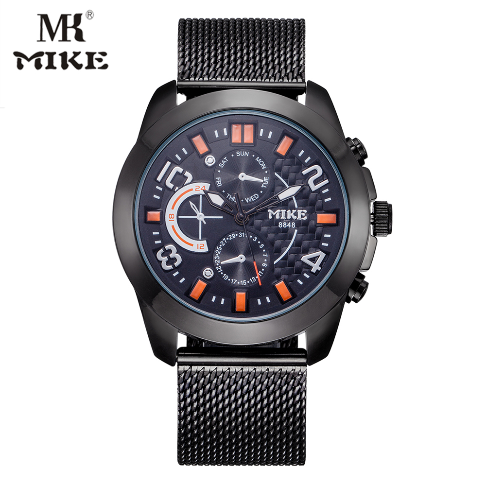 Fashion Brand Quartz Analog Watches Men Stainless Steel Male Clock Military Sport Wristwatch Relogio Masculino husband relojes new arrival 2015 brand quartz men casual watches v6 wristwatch stainless steel clock fashion hours affordable gift