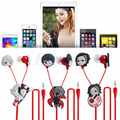 Anime Tokyo Ghoul Kaneki Ken Earphone Cute Earbuds Headphones Headset Cosplay
