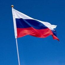 Российский национальный флаг 90*150 см Висячие флаги Офис/активность/парад/оформление дома баннер для фестиваля Кубок мира 1 шт