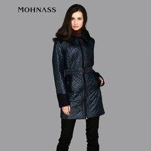 MOHNASS 2015 New Brand women s Spring fall coat Cotton Fashion Short Slim Warm Pocket Zipper