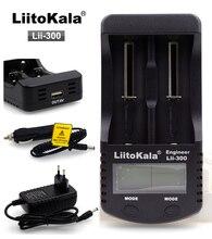Liitokala Lii-300 Digital 18650 Зарядное устройство ЖК-дисплей Дисплей Батарея емкость тест 18650 Каррегадор Bateria зарядное устройство Бесплатная доставка