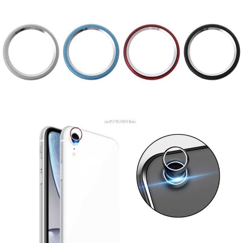 الخلفية عدسة حلقة واقية الوفير غطاء كاميرا لين واقي للشاشة حالة المعادن ل أبل فون XR