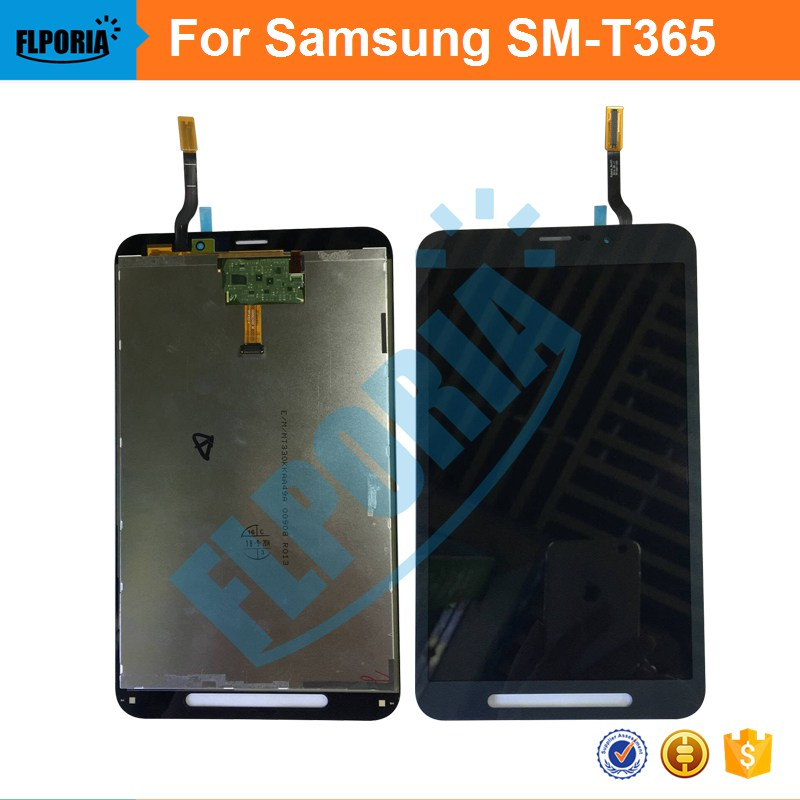 For Samsung Galaxy Tab Active SM-T365 T365 LCD Display Panel With Touch Screen Digitizer Assembly  Replacement Parts Black W new tested lcd for samsung galaxy e5 e5000 e500 screen display with touch digitizer tools assembly 1 piece free shipping