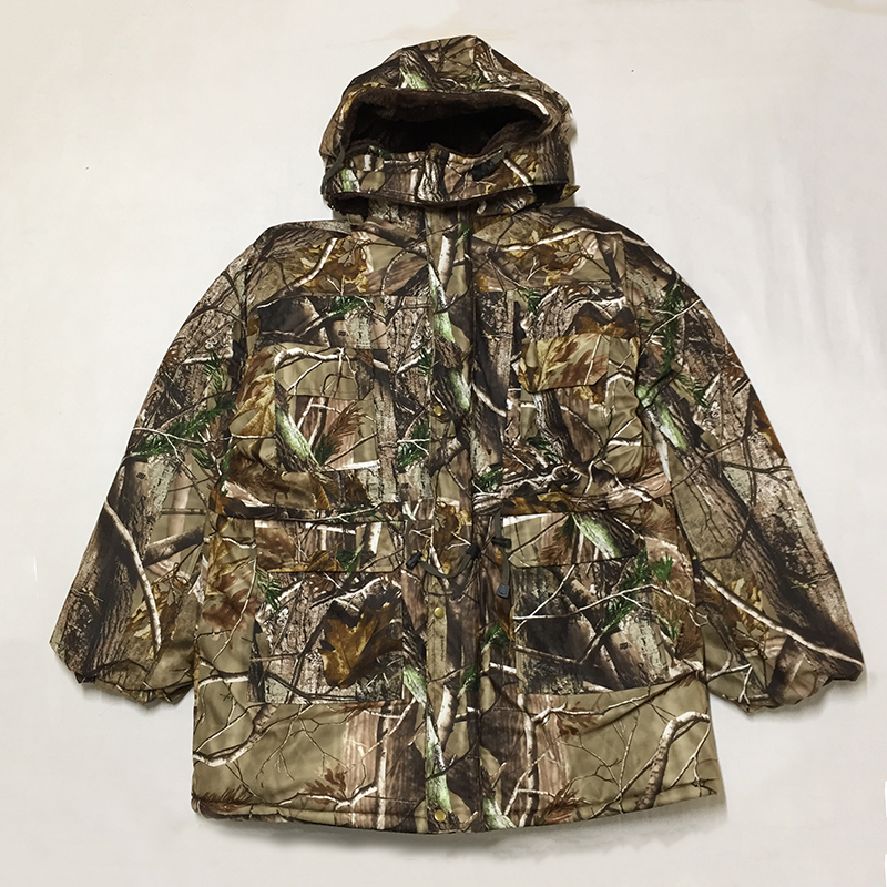 Men Winter Bionic Camouflage Tactical Jacket Army Water Resistant Clothes Military Camouflage Outdoor Windbreaker Hunting Coats