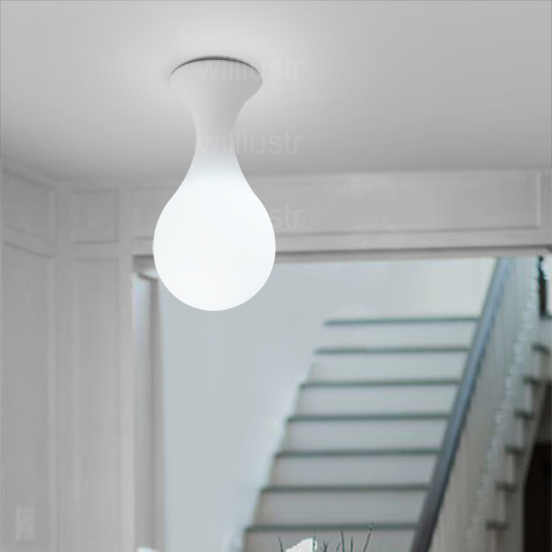 Image 5 - Next Drop Ceiling Lamp Constantin Wortmann Design Home Collection Light Glass Shade Liquid Drop Bowling Foyer Doorway Lighting-in Ceiling Lights from Lights & Lighting