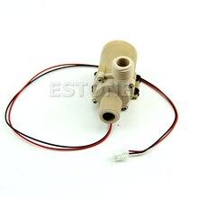 Muito Durável 12V/24V DC Solar Hot Water Pump Circulação Brushless Motor Bomba de Água 3M 3 5M Novo