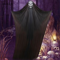 Imixlot 1 Pc Halloween Ghost Hanging Decorations For Home Party Bar KTV Supermarket Decoration Horror Props Supplies