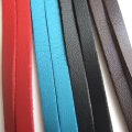 Red Blue Black Dark Brown 5M 6mm Flat Faux Suede Korean Velvet Leather Cord string Rope Thread Jewelry Findings Bracelet DIY
