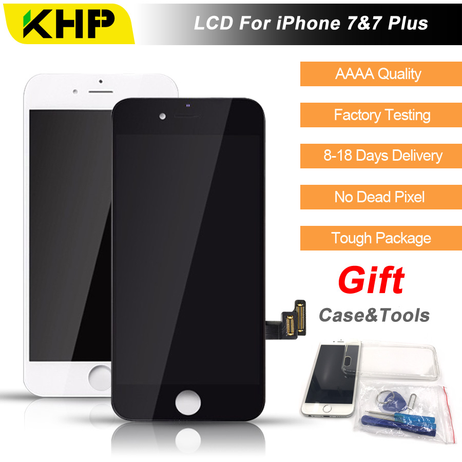 2019 100% Original KHP AAAA Screen LCD For iPhone 7 Plus Screen LCD Replacement Display Touch Screen Digitizer Quality LCDs2019 100% Original KHP AAAA Screen LCD For iPhone 7 Plus Screen LCD Replacement Display Touch Screen Digitizer Quality LCDs