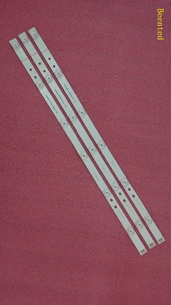 Complet rétro-éclairage LED bar Tableau parfait compatible pour 32LB561V UOT Un B 32 POUCE DRT 3.0 32 Un B 6916l-2223A 6916l-2224A 3 * 6LED 590mm