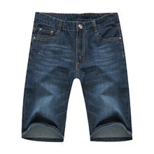 2016 Summer men's casual brand high quality straight denim jeans man fashion blue color cowboy thin pant big size 29-50