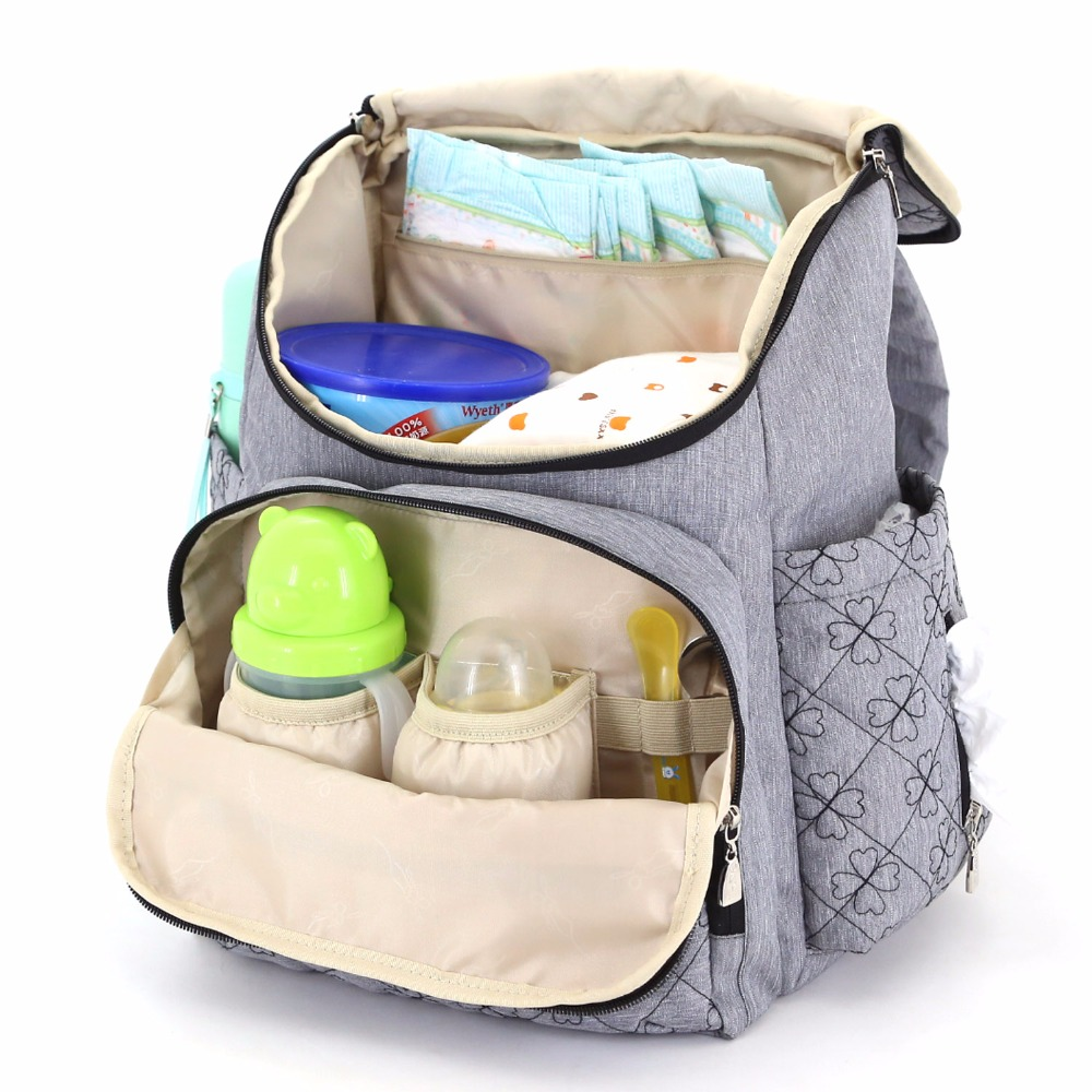 Backpack Mommy Diaper Bag Baby Travel Organizer w//Luggage Strap