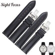 19 20mm (Buckle 18mm) 1853 Watchbands for Tissot Quickster T095 Watches Straps Men Male Belts Bracelets for Tissot Starfish T065 часы tissot t095 417 36 037 00