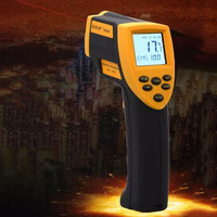 Digital Infrared Thermometer Non Contact Temperature Gun Laser Handheld Infrared Thermometer Liquid Crystal Display 50 700C