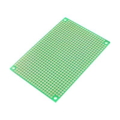 PCB Circuit Board Prototype Veroboard Stripboard 60mm x 90mm Green circuit board hardware pcb 1371 2 1 piece