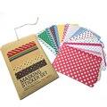 NOVO! Adesivos coloridos Brinquedo para DIY Scrapbooking Diário Planejador Notebook Livro de Exercícios Fotos 27 Folhas de Um Bloco, 4 Estilos Disponíveis