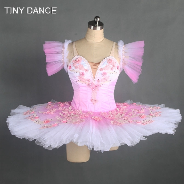 6c48d10a7eb5b 2017 Graduated Color Classical Tutu for Girls Light Pink/White Ballet Dance  Tutu Professional Stage