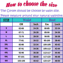 NEW 7 Color Corsets And Bustiers Sexy Lingerie Plus Size 6xl Women Lace up Body
