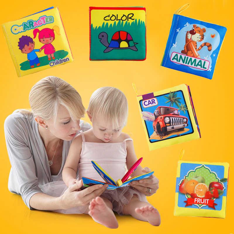 Детская тканевая игрушка-погремушка для детской кроватки, обучающая Мобильная коляска, тихая книга для новорожденных 0-12 Weep Kid 13-24, детская игрушка для малышей на кровати