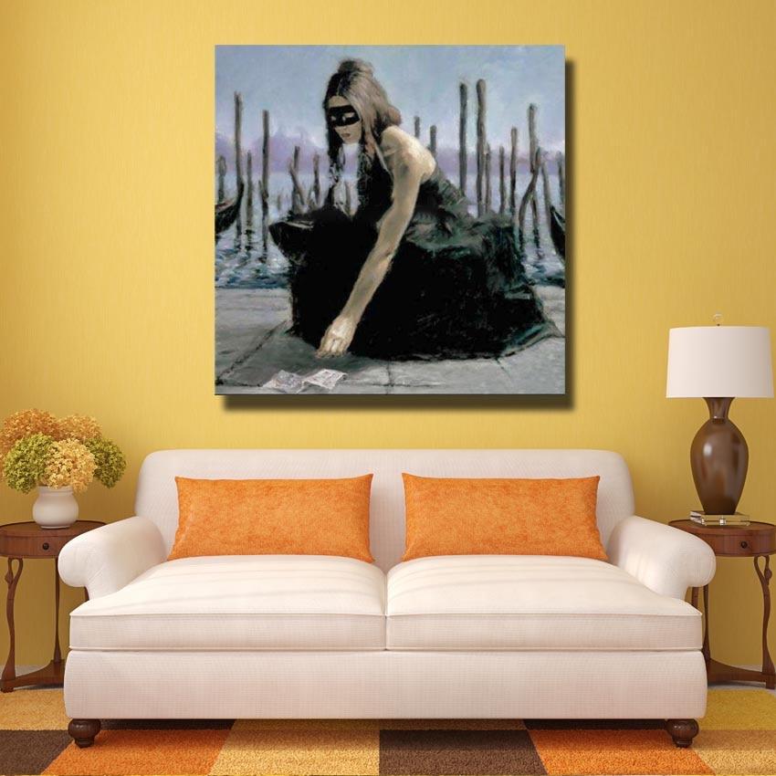 Pop Art Oil Painting Hand made Modern Canvas Art Living Room Wall ...