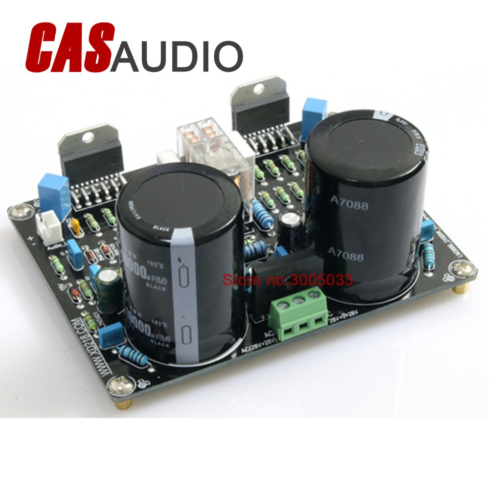 68w Stereo Lm3886 Ne5532 Audio Amplifier Board Dc Serve Current Projects To Control The Speaker Output Relay Feedback With Protection For Diy Project In From Consumer
