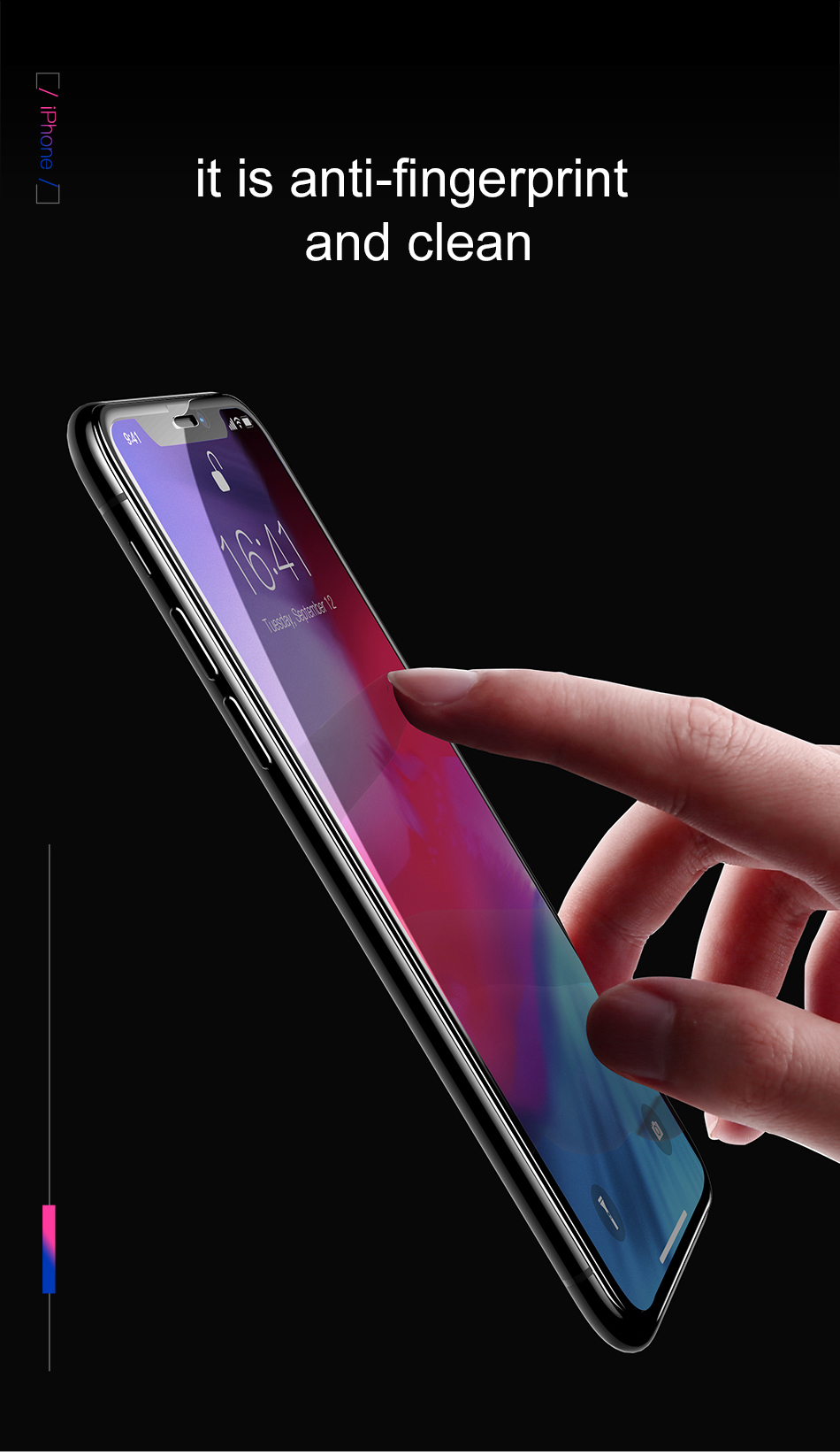 Screen Protector For iPhone xs x max xr